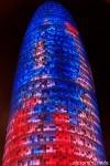 Torre Agbar , Barcelona, Spain