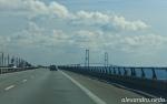 Great Belt Bridge, Denmark (7 Km long, 1.6 Km longest span)