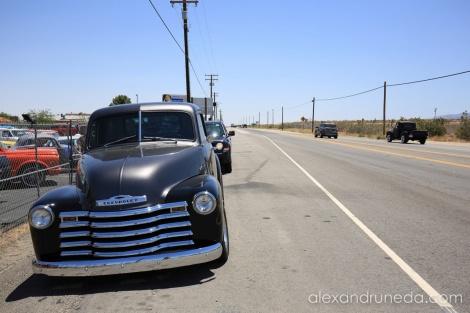Vintage cars in Littlerock, CA