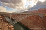 Bridge over Colorado river at Marble Canyon, AZ
