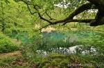 Lake on Louros river