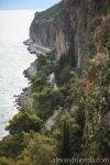 Beautiful sea walk in Nafplio